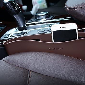 Amazon.com: Car Side Pocket Organizer – Gap Filler – Stop the Drop ...