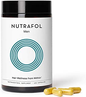 product image for Nutrafol Mens Hair Growth Supplement for Thicker, Stronger Hair (4 Capsules Per Day - 1 Month Supply)…