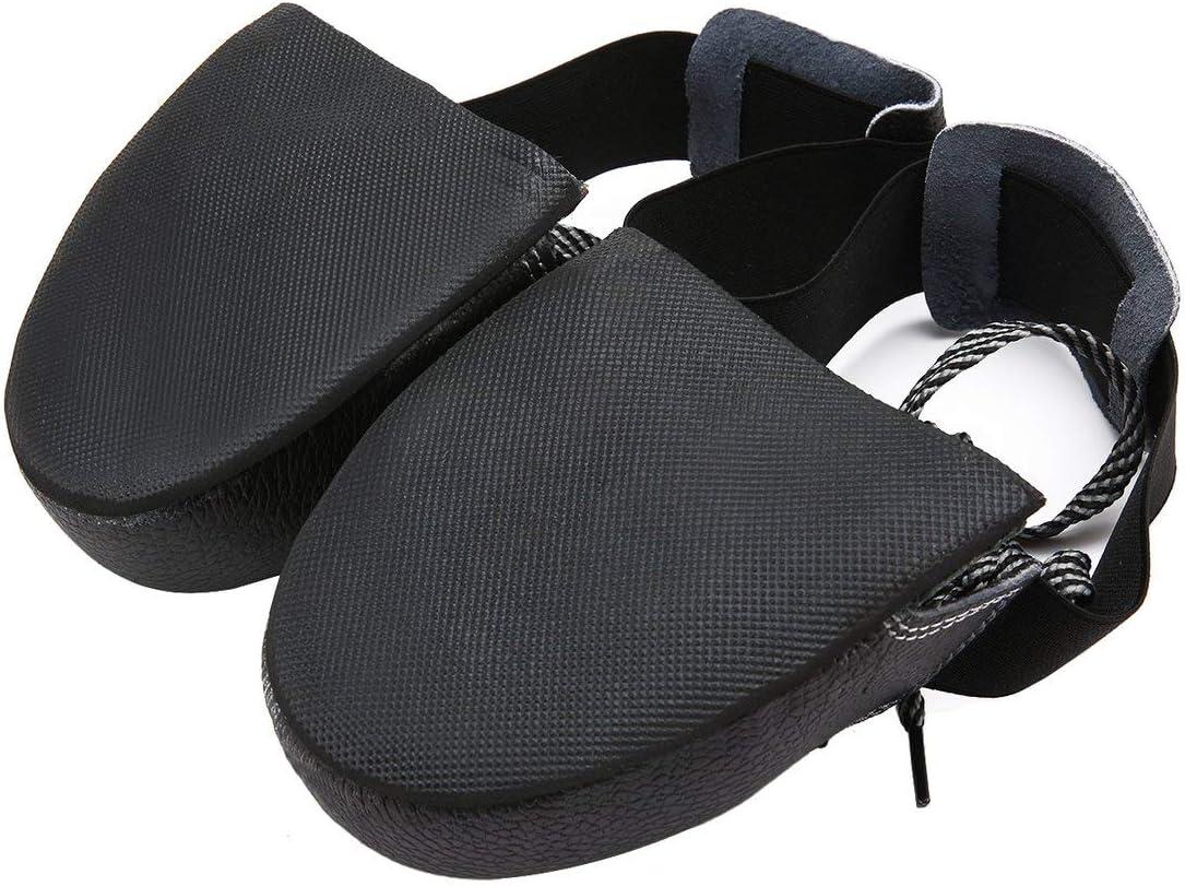 Ballylelly Chaussures de s/écurit/é /à Bouts en Acier Unisexes Anti-frottement Anti-d/érapantes Couvrant Les Couvre-Chaussures de Protection universels