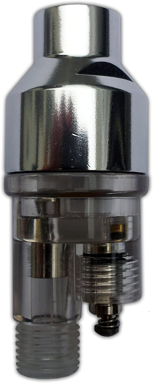 1//8 pour a/érographes Mini Filtre /à air et s/éparateur deau 9,51 mm