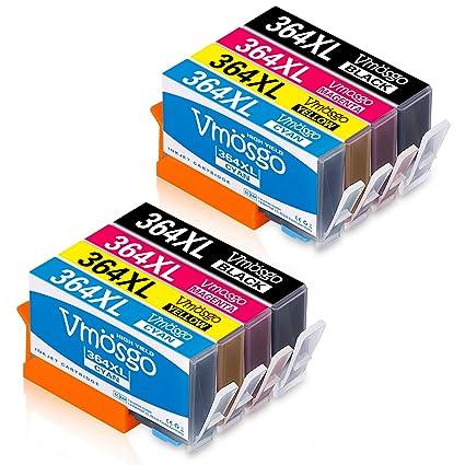 Vmosgo 364XL Reemplazo para HP 364 364XL Cartuchos de Tinta ...