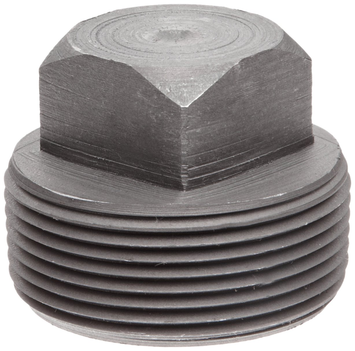 Square Head Plug Anvil 2122 Forged Steel High Pressure Pipe Fitting 1//4 NPT Male Class 6000