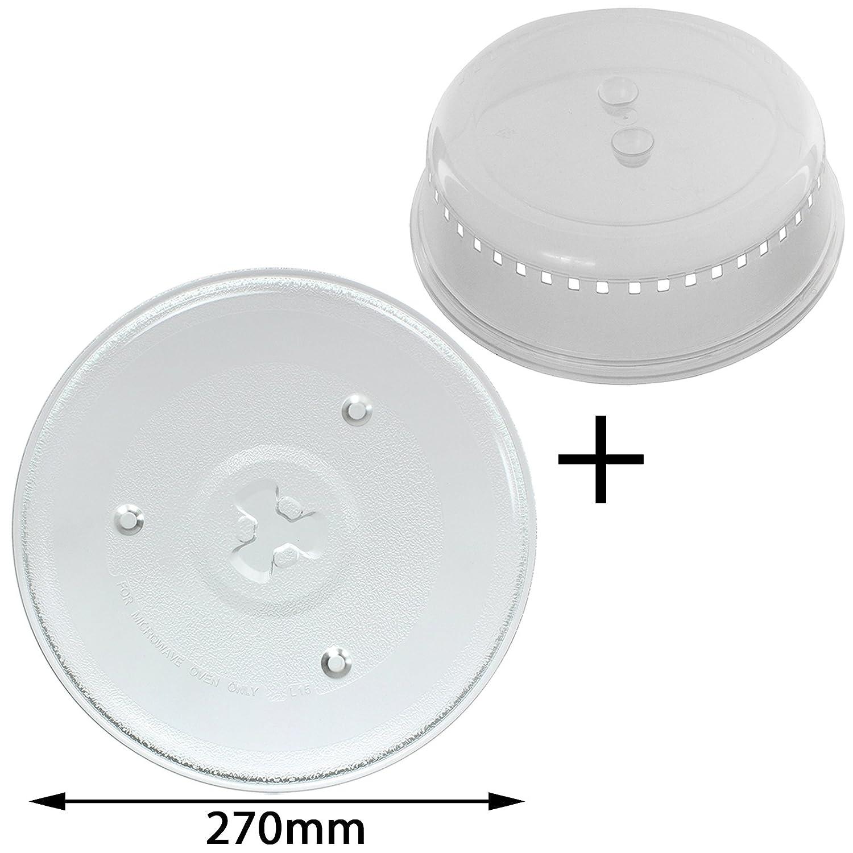 Spares2go Universal de 270 mm para plato giratorio del microondas ...