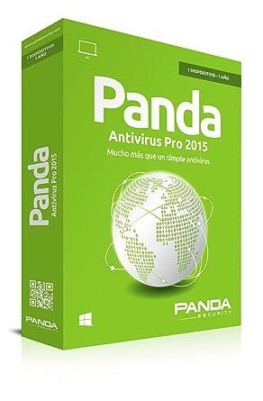 Panda Antivirus Pro 2015 - Software De Seguridad, 1 Licencia