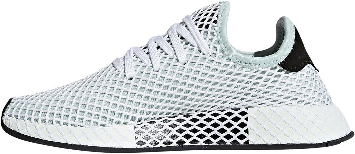 adidas Originals Deerupt Runner Womens Shoes EUR 38 Ash Green