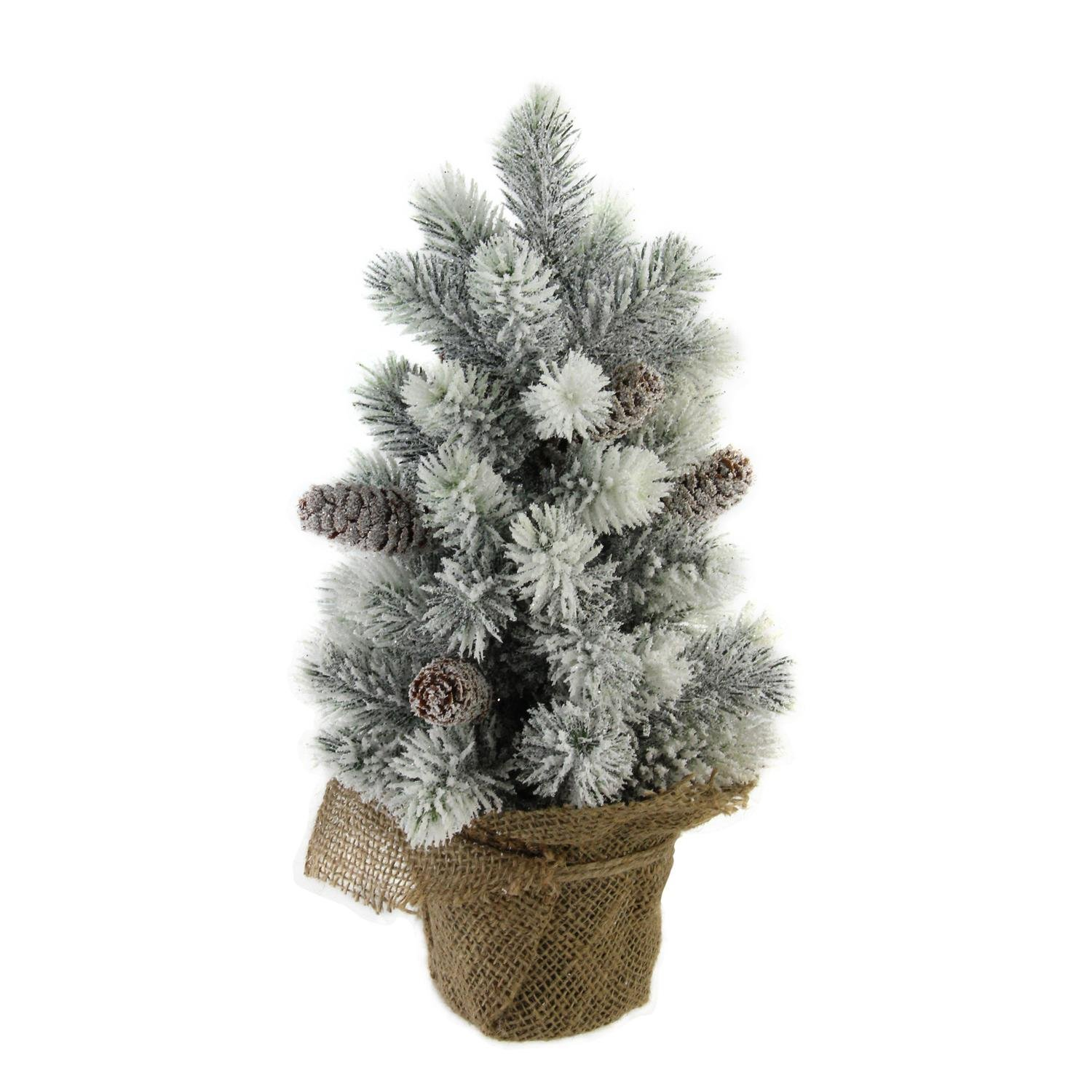 Snow Flocked Artificial Table Christmas Tree