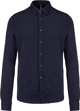 SOUL REBEL - Camisa Piqué Manga Larga - 190 g/m² - Hombre ...
