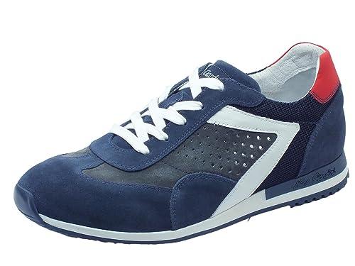 Nero Giardini Scarpe Sportive NeroGiardini per Uomo in Camoscio Blue e  Grigio  Amazon.it  Scarpe e borse f4aab904757