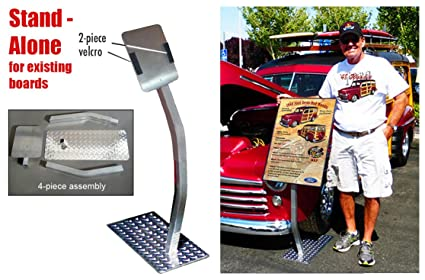 Amazoncom SIGN STAND For YOUR Existing Car Show Board - Car show boards