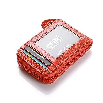 Tarjeta de Cuero Tarjeta de crédito de la Tarjeta de Visita Caso de la Tarjeta de crédito RFID Titular de la Tarjeta de la Caja del sostenedor del ...