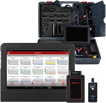 LAUNCH X-431 V Tablet Android Herramienta de diagn/óstico profesional multimarca OBDII//EOBD dbscar wifi bluetooth 7000 mAh 2 a/ños de actualizaciones de software gratuitas en ESPA/ÑOL