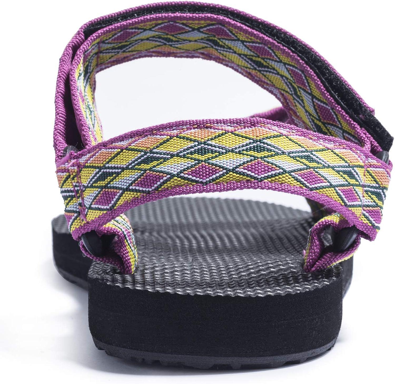FITORY Women Flat Sandals Urban Sport/&Outdoor Comfort Beach Shoes Size UK 4-9
