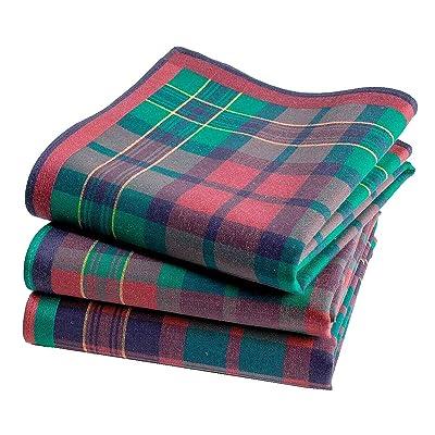 Mouchoirs écossais Aberdeen- 45cm x 45cm - 3 unités