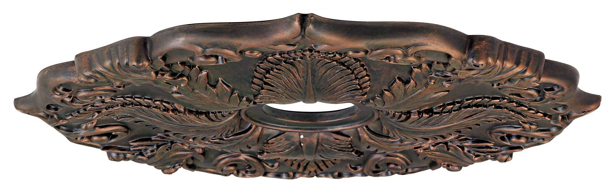 Classic Roman Bronze 24'' Wide Ceiling Medallion by Universal Lighting and Decor (Image #4)
