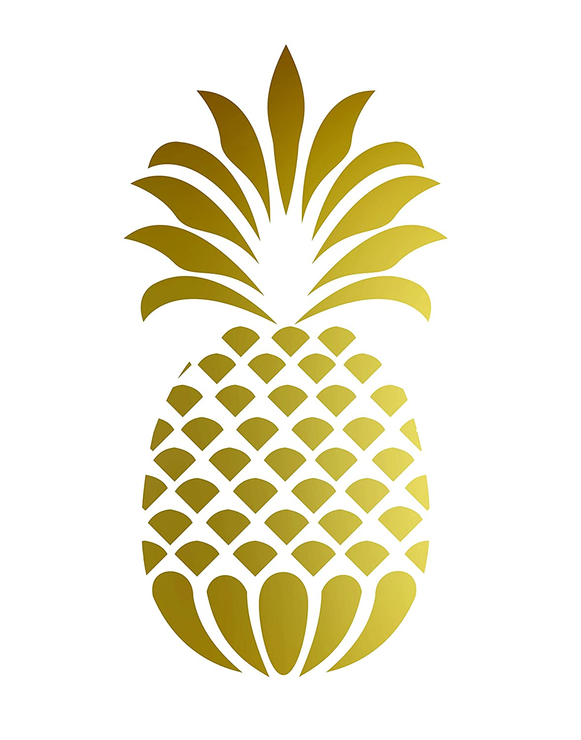 Enchanting Metal Pineapple Wall Decor Illustration - Wall Art ...