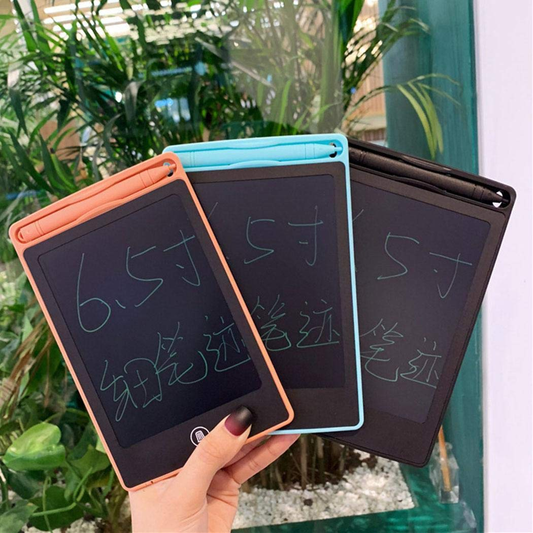 Cadiyo Tableta de Escritura LCD de 6.5 Pulgadas Tablero de Dibujo para niños Almohadilla de Escritura electrónica Accesorios de informática
