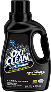 OxiClean Dark Protect Liquid Laundry Additive, 50 oz.