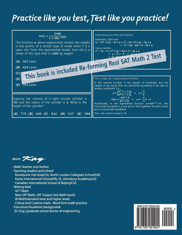 Amazon.com: PAST PAPERs QUESTION BANK SAT SUBJECT TEST MATH LEVEL 2: Past  Papers SAT Math Level 2 (9781725051904): Kay: Books