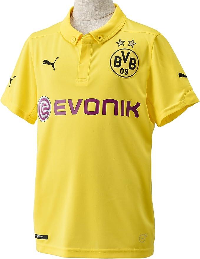 Puma BVB - Camiseta de fútbol para niño, diseño del Borussia ...