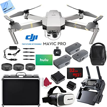 Amazon.com: DJI Mavic Pro Platinum Quadcopter Drone con ...