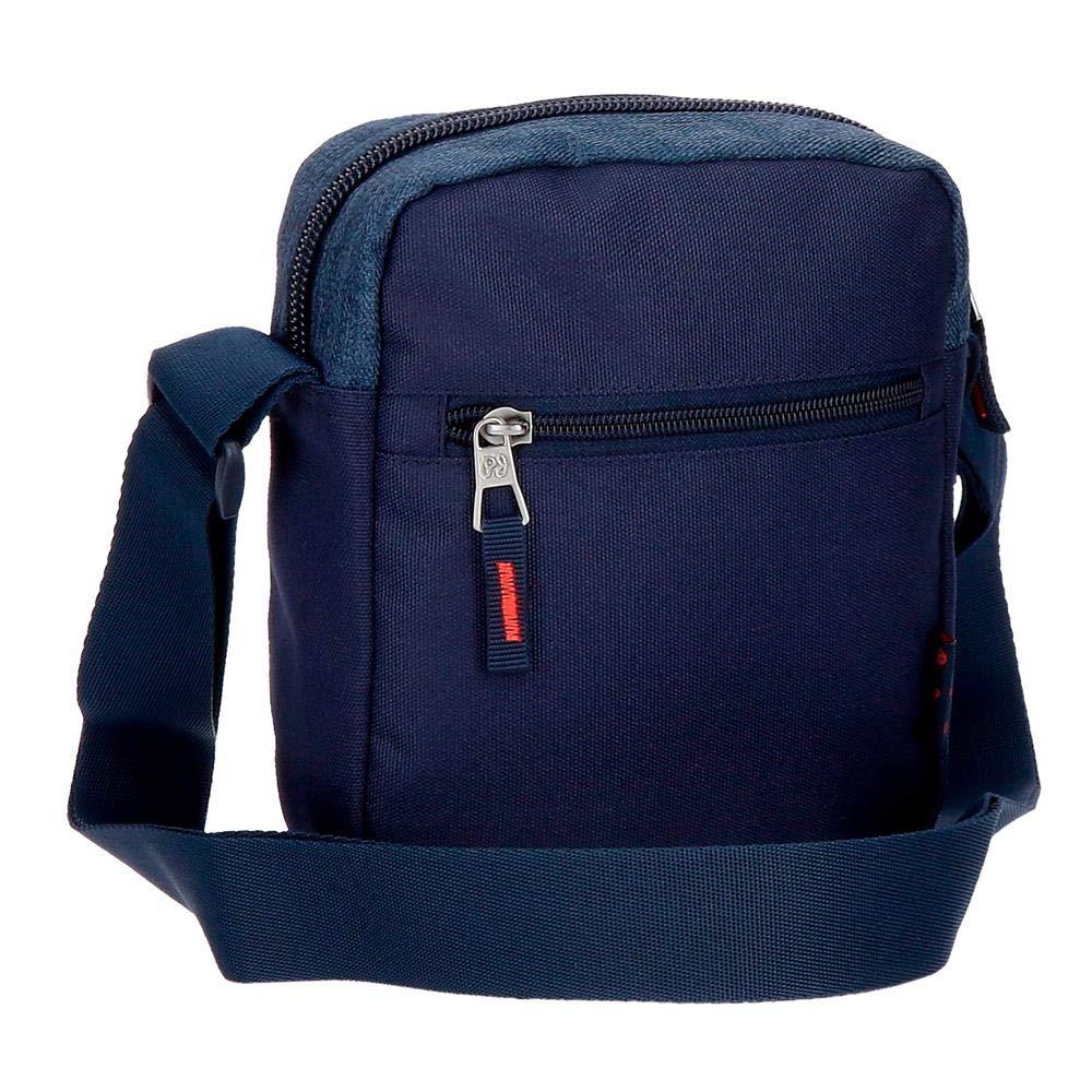 Pepe Jeans Paul Sac bandouli/ère 21 centimeters 2.5 Bleu Azul