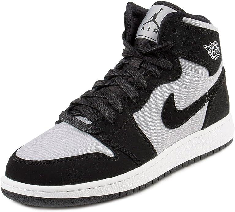 Actualizar esculpir España  Nike Damen Air Jordan 1 Retro High GG Basketballschuhe, Gris (Wolf  Grey/White-Black), 39 EU: Amazon.de: Schuhe & Handtaschen