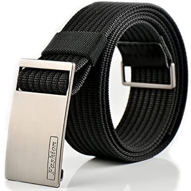ITIEZY Design Military Tactical Belt Nylon Webbing With Automatic Alloy Buckle