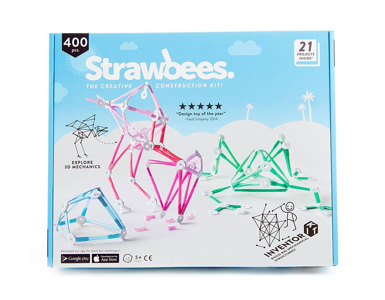 Amazon.com: Strawbees Inventor Builder Kit - 150 Straws and 250 ...