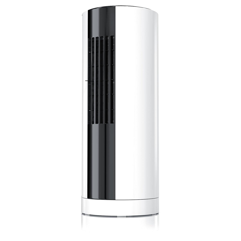 Rowenta Eole Compact VU6210F0 Tisch-Turmventilator wei/ß//schwarz 3 Geschwindigkeitsstufen 30 Watt 3D Luftstromtechnologie leise