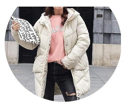 Amazon.com: Chaqueta de invierno con capucha elástica ...