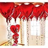 Globos de helio con forma de corazón, de la marca Ximkee, 10 unidades