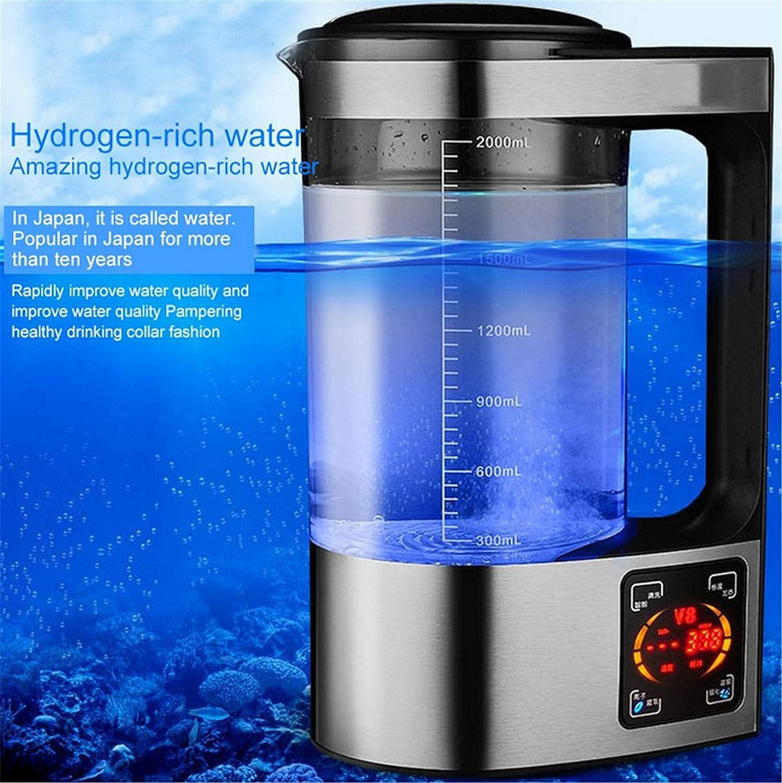 Filtre alcalin de filtre à eau de machine d'ionisateur de l'eau de bouteille d'eau hydrogène riche