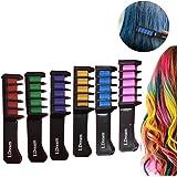 Hair Chalk Comb,Temporary Hair Chalk Colour Set,Instant Hair Chalk,