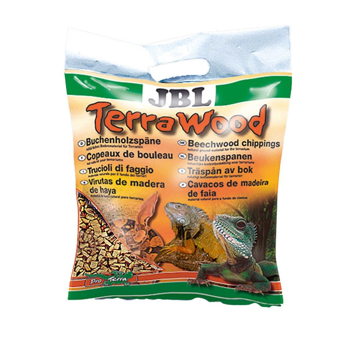JBL TerraWood 5l, Substrat de sol pour terrariums arides et semi-arides 7101600