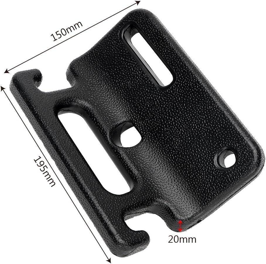 Kunststoff Schwarz Kopfst/ützenhaken CuiGuoPing Auto-R/ücksitz-Handlauf f/ür Insassensicherheit