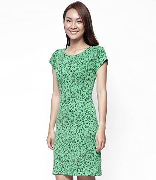 Eternal Coast - Vestido - para mujer Verde Green Flash 36
