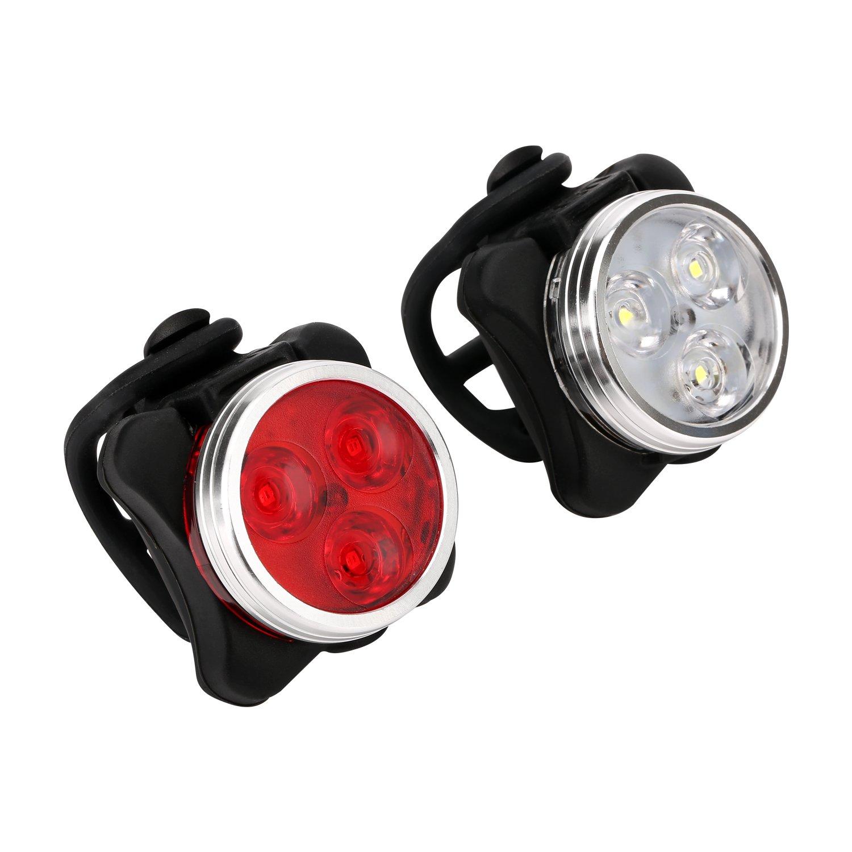 Lights Rechargeable 650mah Bicycle Illumination Image 2