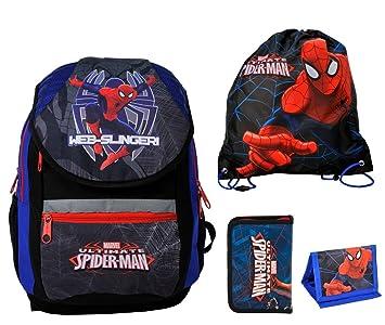 2c42c94d32100 Spiderman Rucksack Jungen Tornister Schulrucksack Schultasche