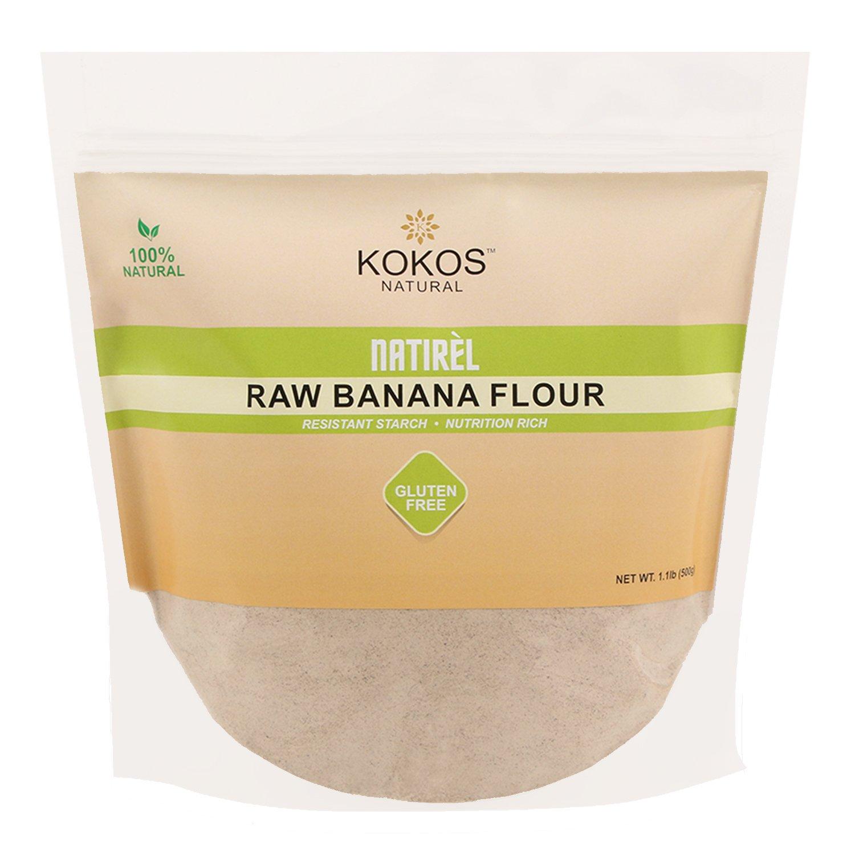 Kokos Natural Raw Banana Flour (Gluten-Free) 1.1Lb Or 500G