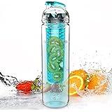 AVOIN colorlife 800ml Tritan Acqua Frutta Infusore Bottiglia (Disponibile in Molti Colori) – Senza BPA