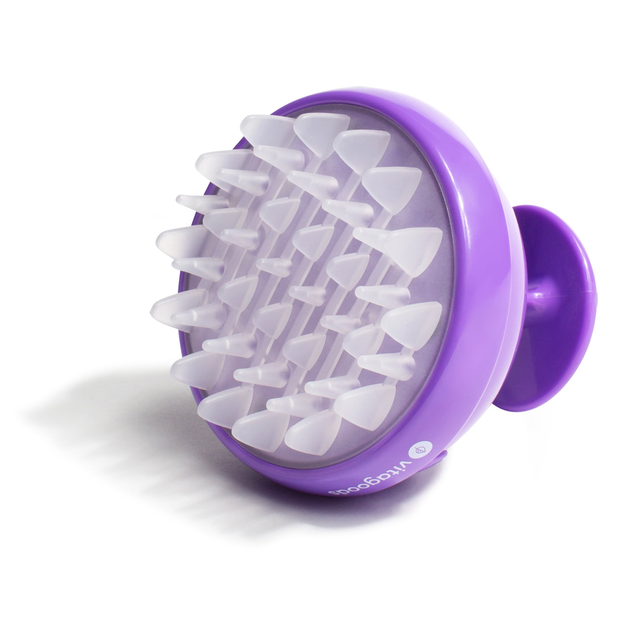 Vitagoods Scalp Massaging Shampoo Brush, Purple
