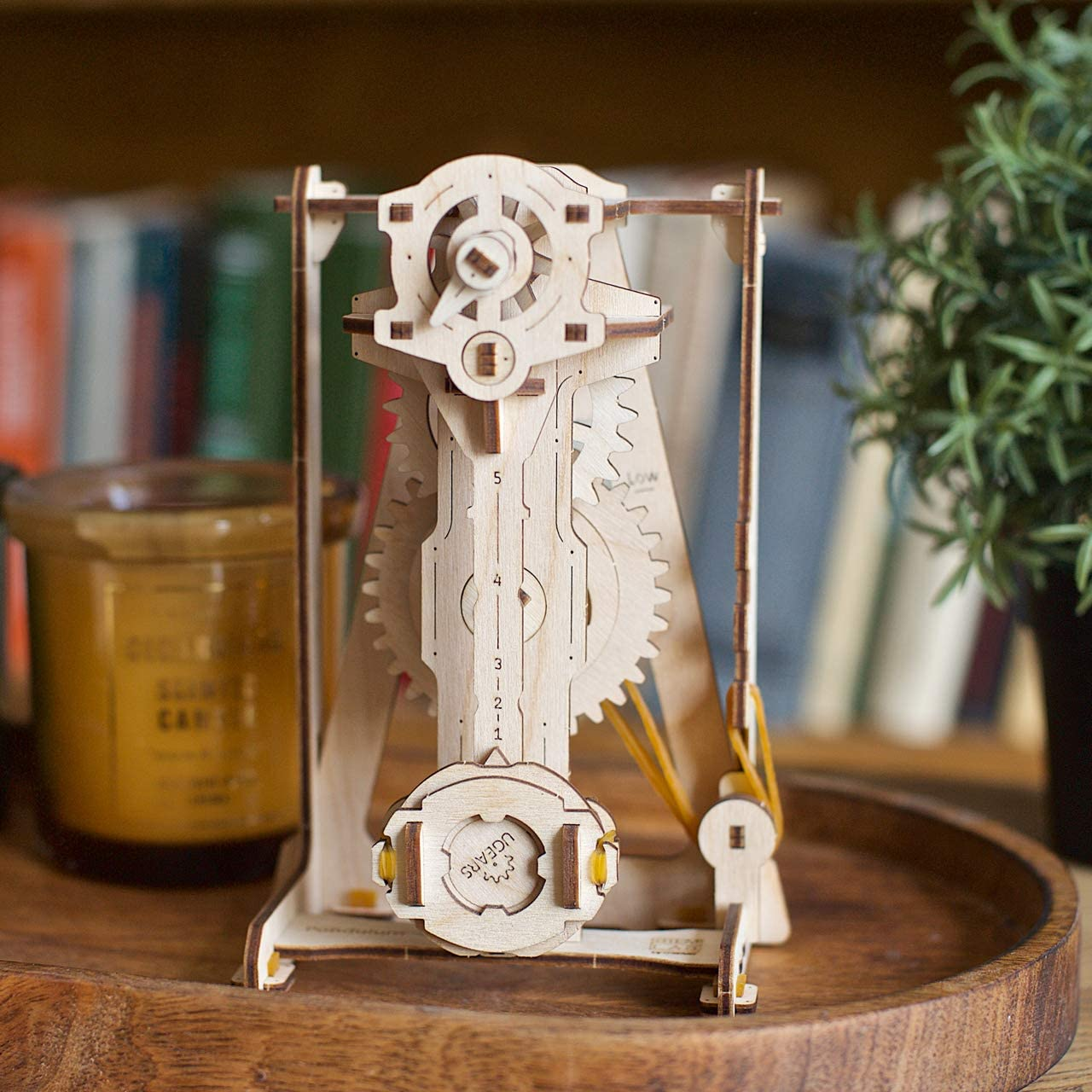 Counter UGEARS STEM Lab Series Differential Counter Gerbox Pendulum