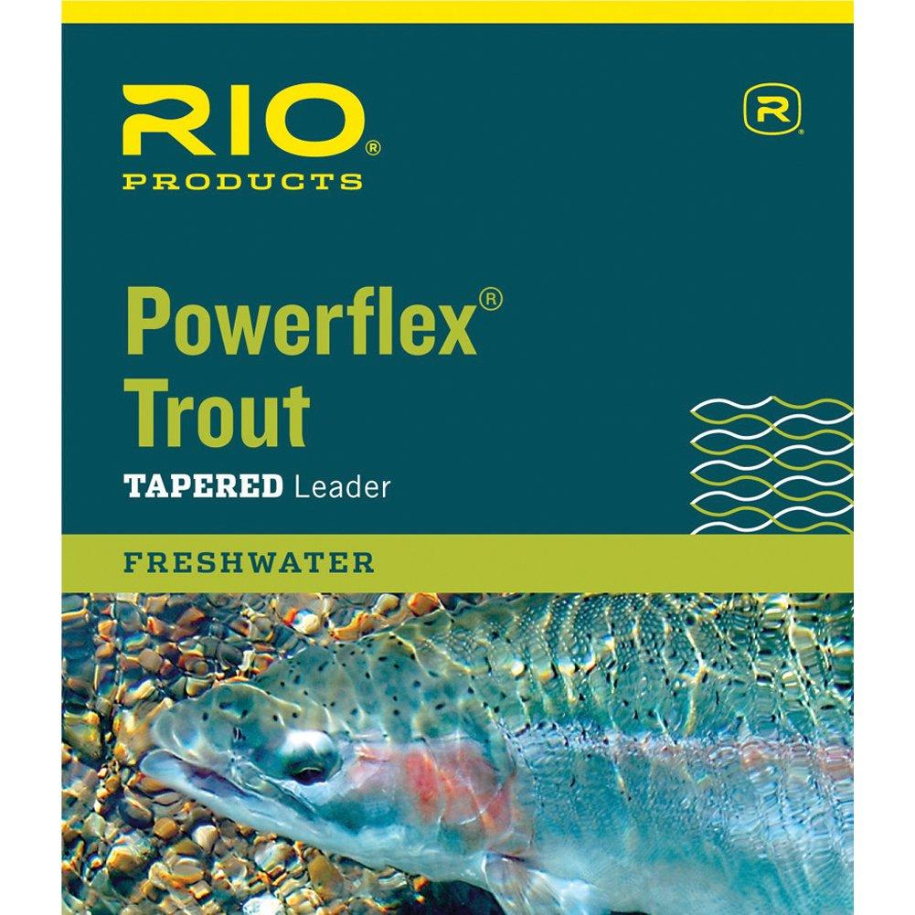 100%本物 Rio Powerflex x Trout 15 15 Ft 5 x 5 5.0lb引出線 B005WYLH38, デザイン文具Leilo(レイロ):413bb14f --- a0267596.xsph.ru