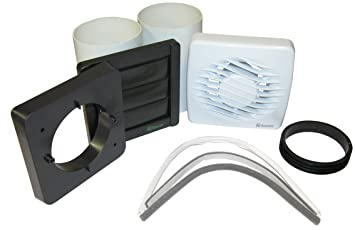 Xpelair Bathroom Extractor Fan With Window Or