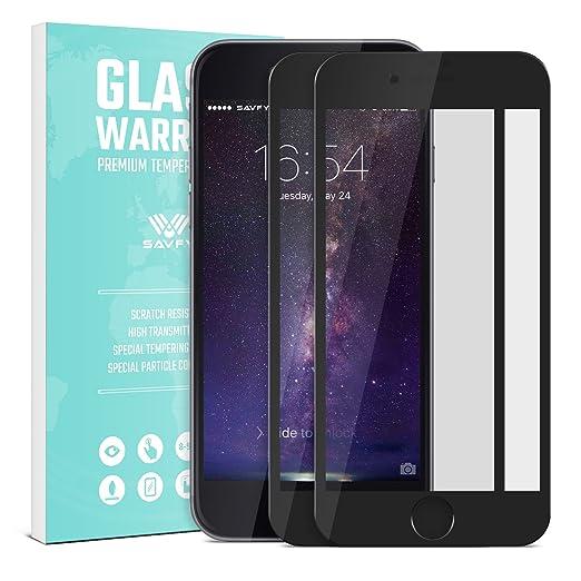 6 opinioni per Pellicola iphone 7 plus Vetro Temperato, [2-PACK, 2.5D, 9H] SAVFY Ultra