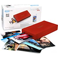 Serene Life SereneLife Portable Instant Mobile Photo Printer - Wireless Color Picture Printing from Apple iPhone, iPad, Android Smartphone Camera - Mini Compact Pocket Size Easy Travel - SereneLife PICKIT21RD Red