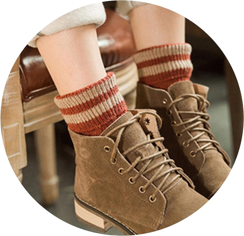 Casual winter women socks warm socks Vintage fleece socks Woollen sock For Boot women christmas gift