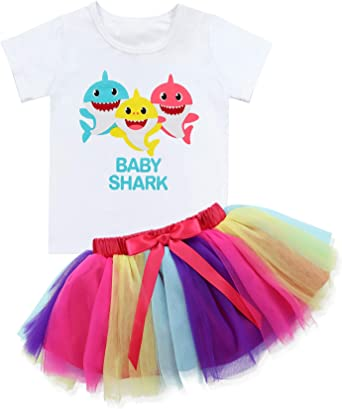 Baby Girl 1//2 Birthday Outfit Set Ice Cream Grey Short Sleeve T-Shirt Tops+Tutu Skirt Clothes 1-6T
