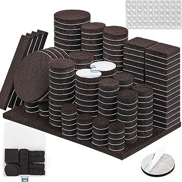 Table Adhesive Pack of 27 Floor Protectors Furniture Leg Pads Felt Craft Chair