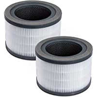 LEVOIT Vista 200 Replacement Filter, 2 Pack, Black, 2 Count